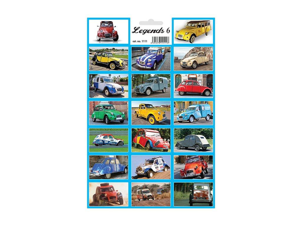 12470 1 samolepky legendy 6 legendarni auta citroenky 2cv