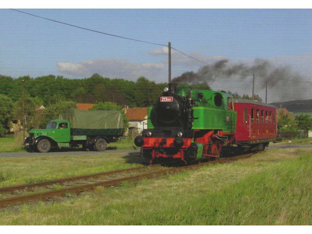 13265 3 vlaky lokomotiva 213 901 marcelka ftf