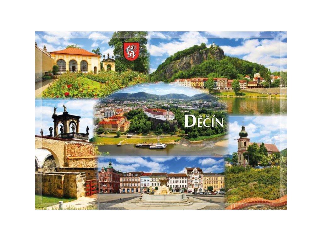 16208 pohlednice decin