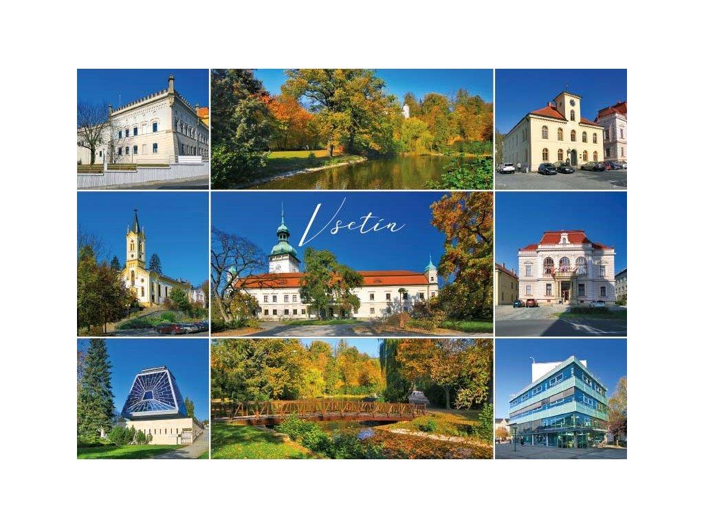 16214 pohlednice vsetin