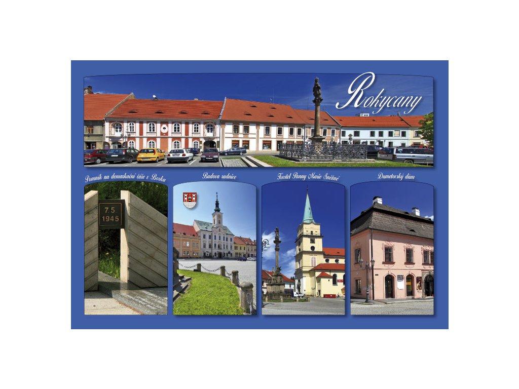 16280 pohlednice rokycany