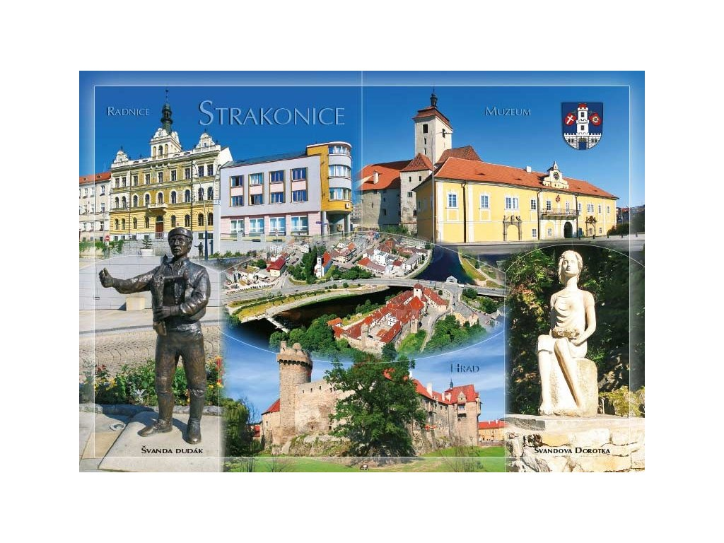 16289 pohlednice strakonice