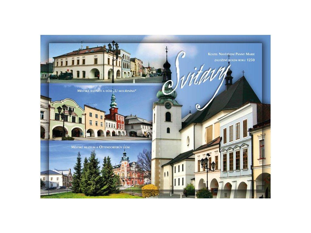 16301 pohlednice svitavy