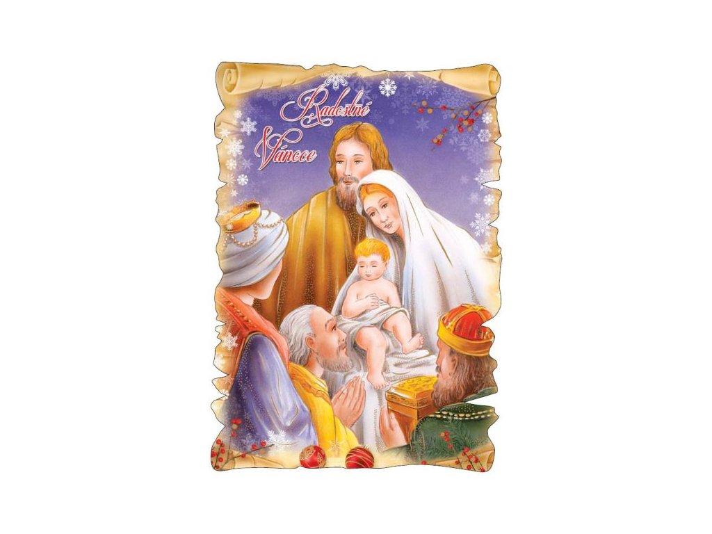 16328 pohlednice radostne vanoce