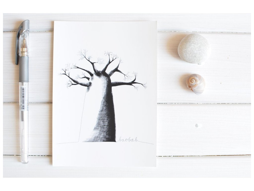 Postcard Baobab