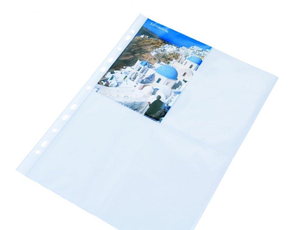16553 zakladaci obal a4 na 8 pohlednice 10x15 cm