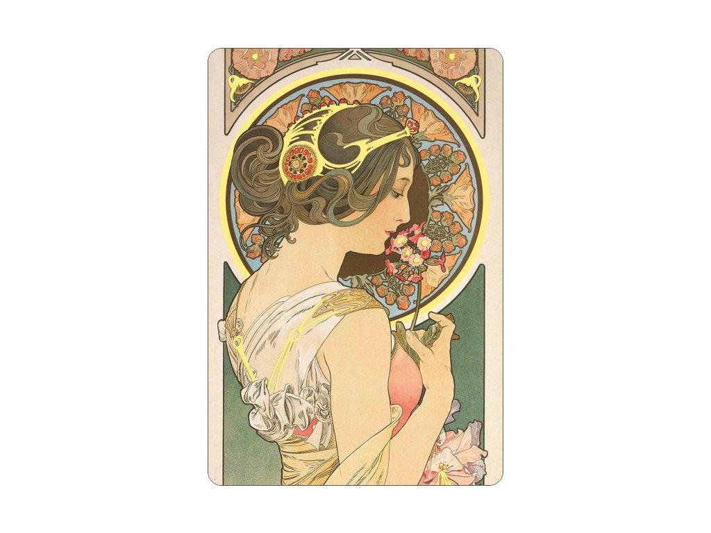 Gilded magnet - A. Mucha - Primrose