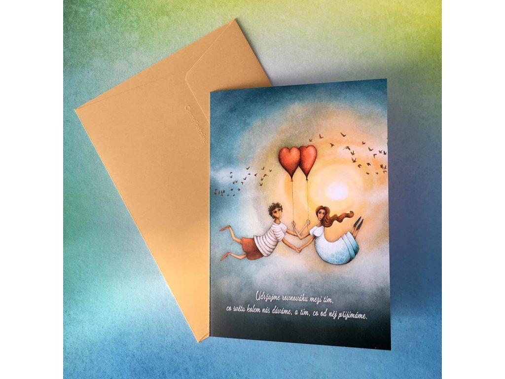 Greeting card Harmony