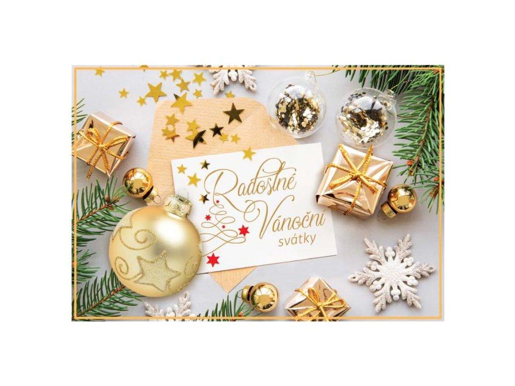 Postcard Joyful Christmas holidays
