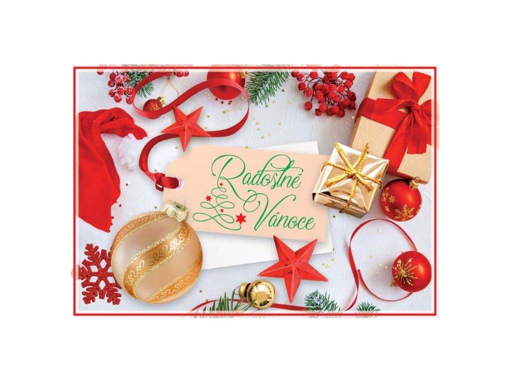Postcard Joyful Christmas