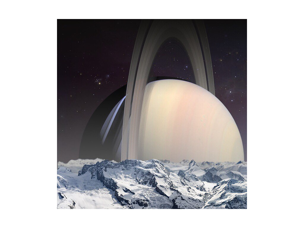 Postcard - Saturn