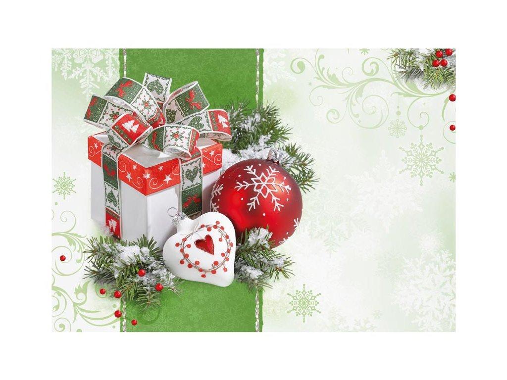 Envelope C6 - Christmas motif 07