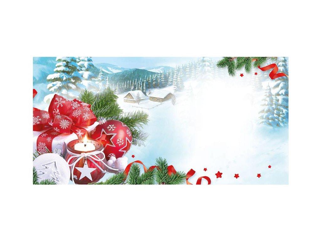 Envelope DL - Christmas motif 02