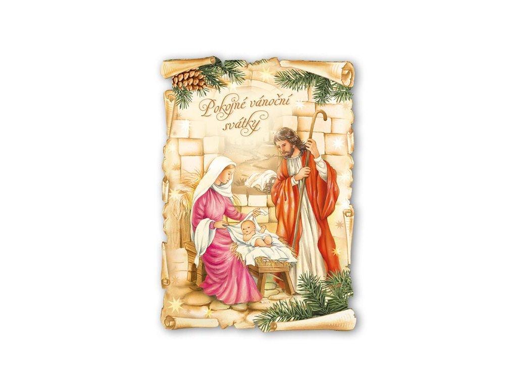 Postcard Peaceful Christmas holidays