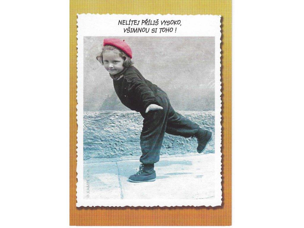 Postcards Do not pour too high