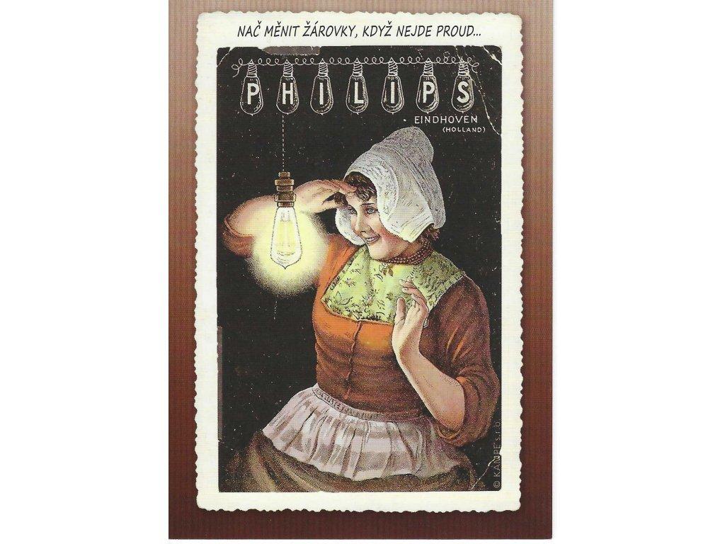 Postcard Why change light bulbs