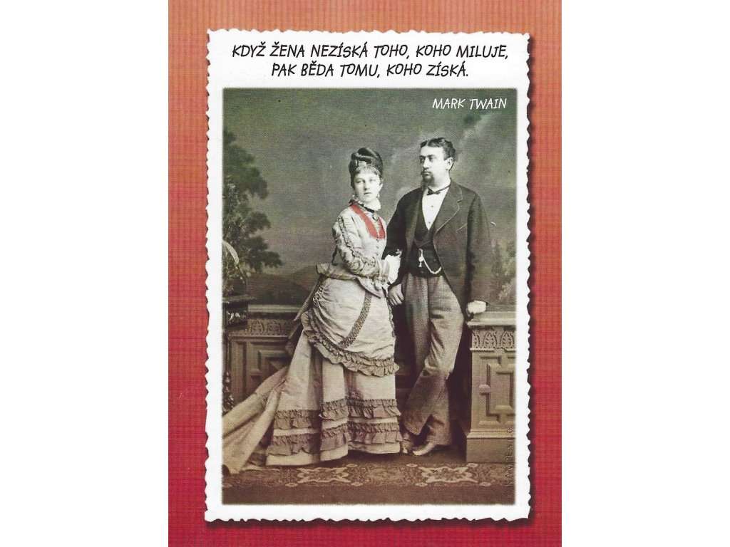 Postcard When a woman does not win
