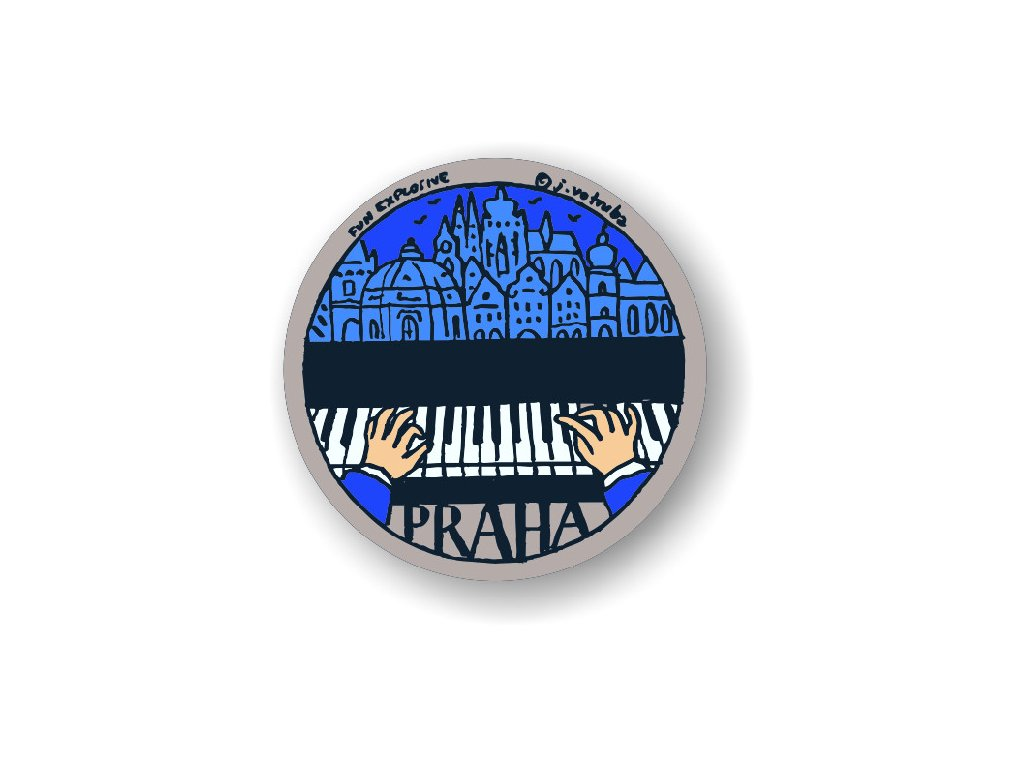 Badge Prague - Small melody