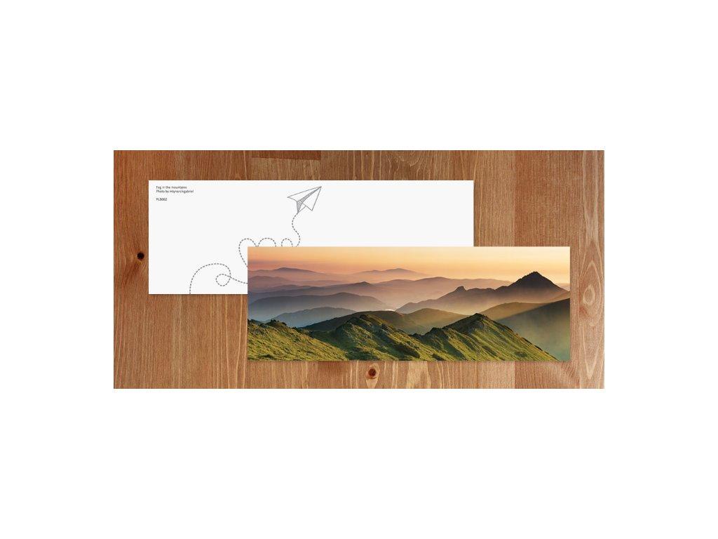 Bookmark misty mountains