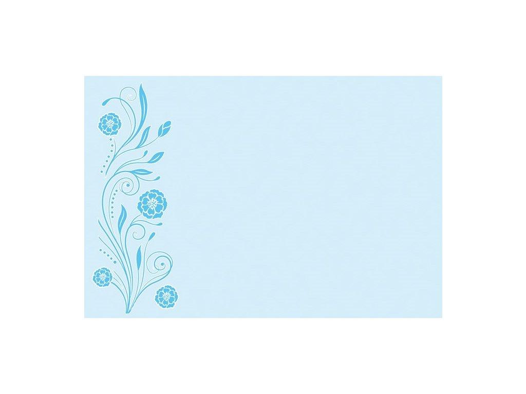 obalka modré květy