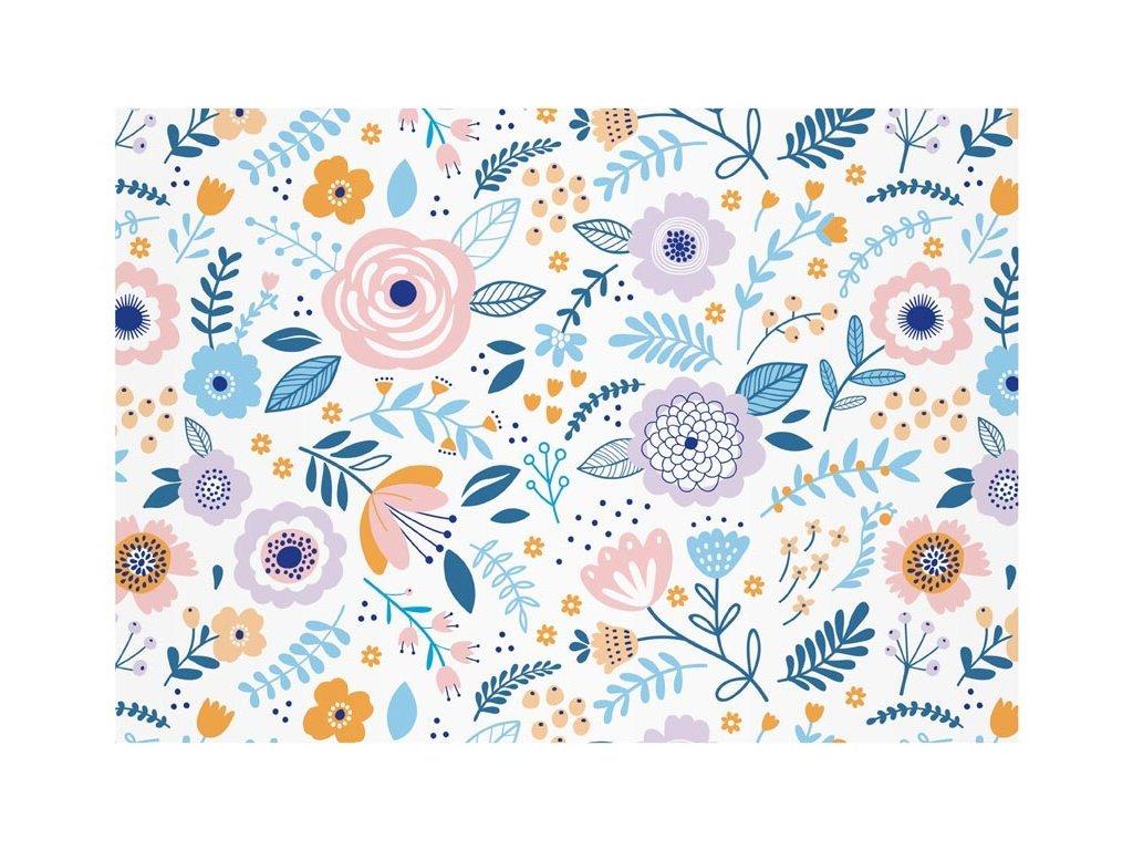 obalka pastelove kvety