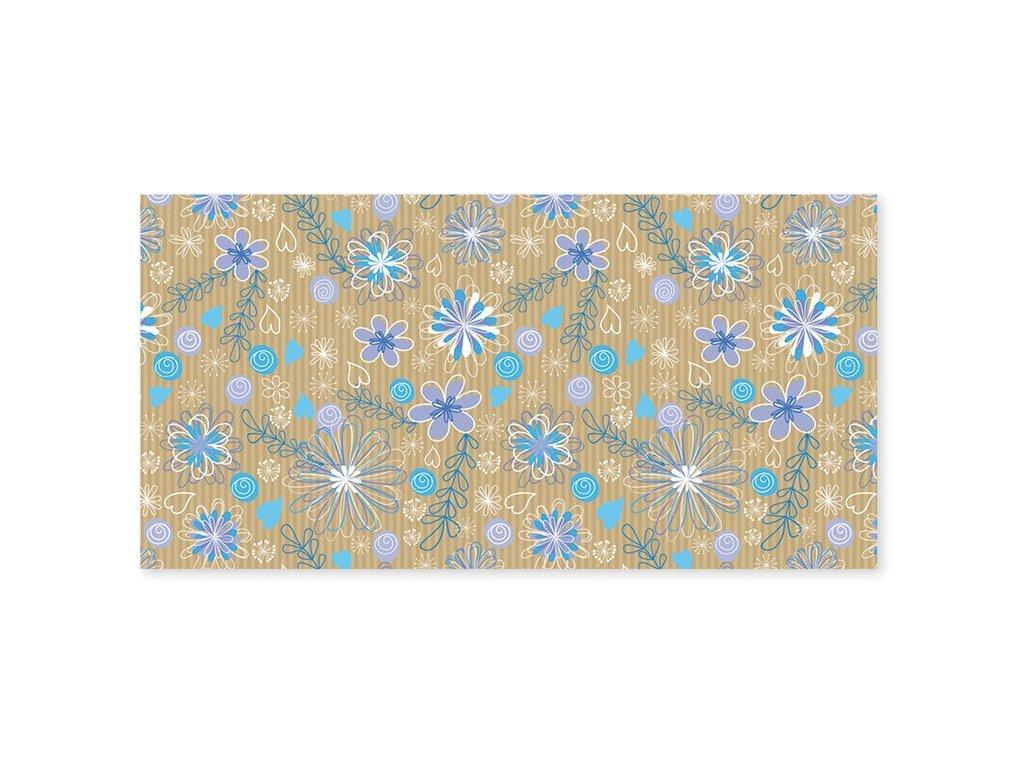 obalka DL modrofialove kvety