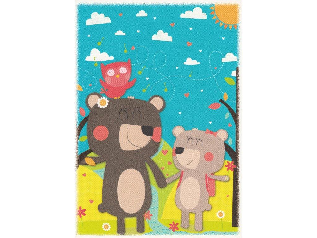 Postcard Bears