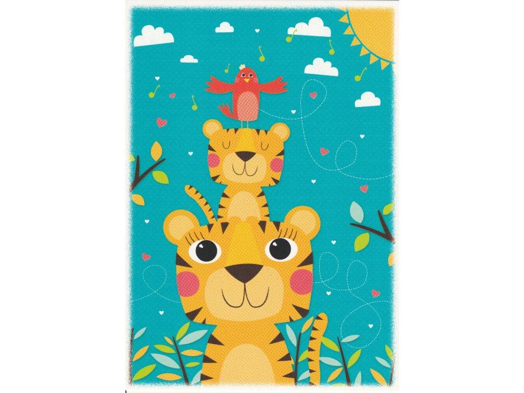 Postcard Tigers