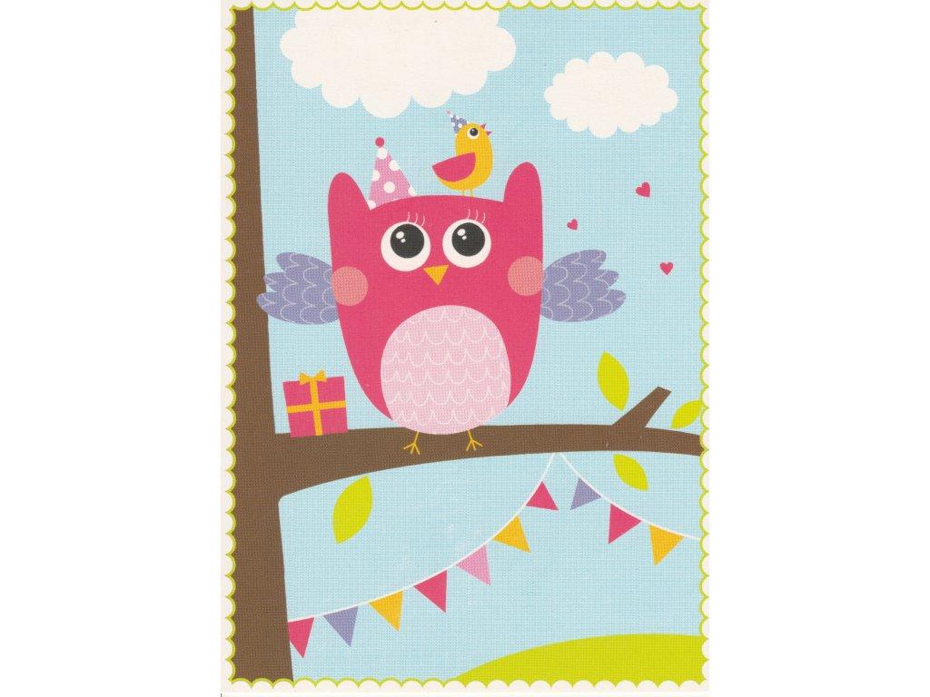 Postcard Birds party