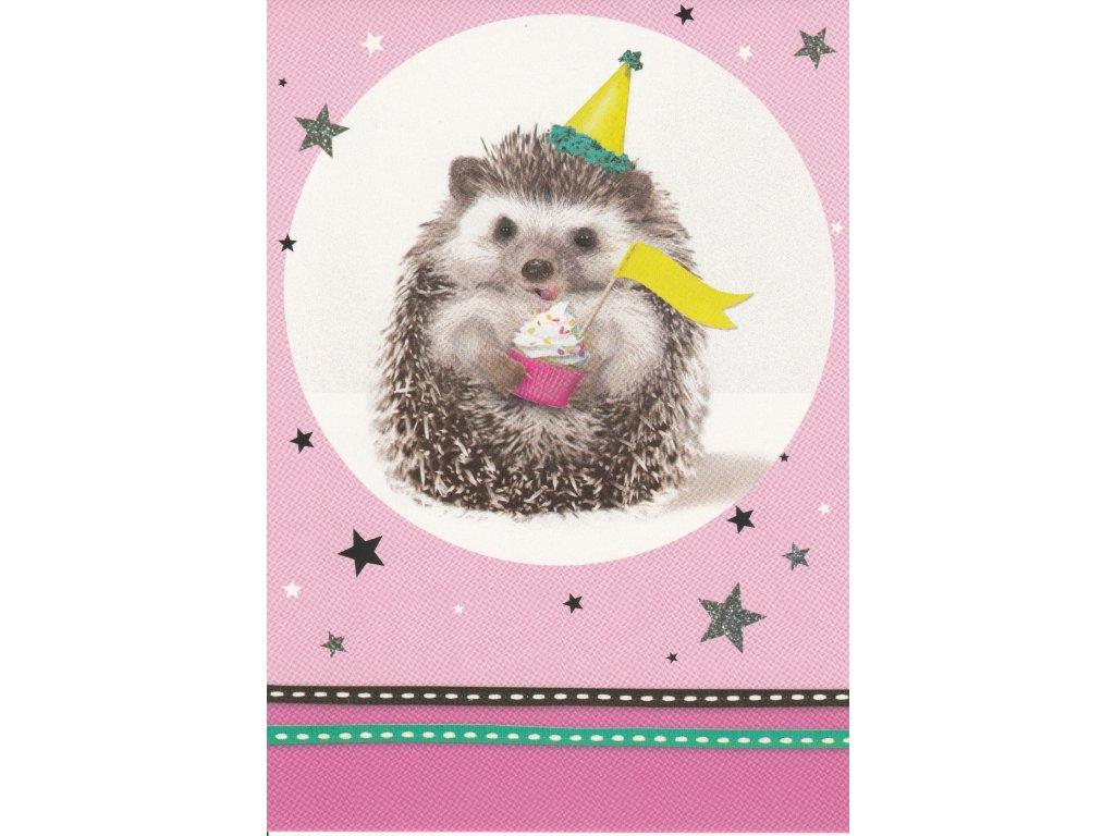 Postcard Hedgehog honoree