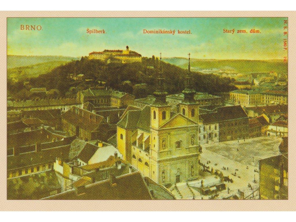 Postcard Brno - historical
