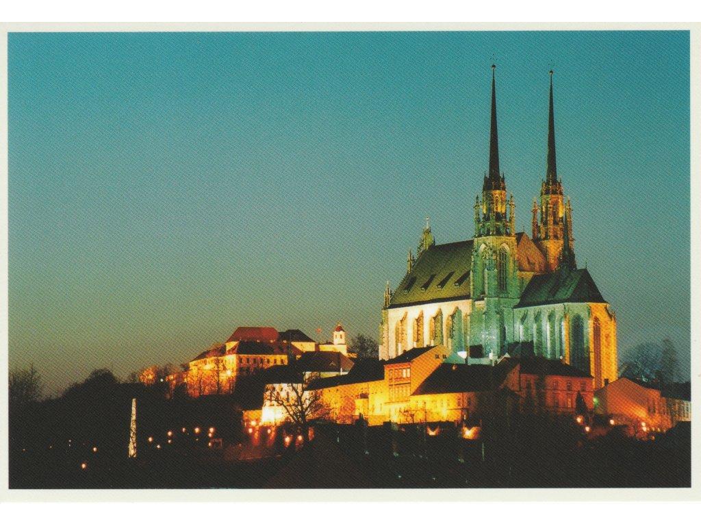 Postcard Brno - cathedral