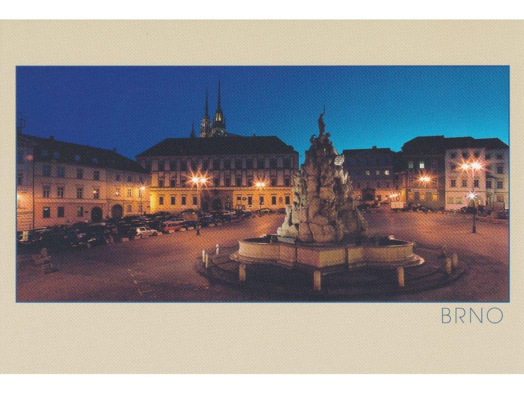 Postcard Brno - Vegetable Market
