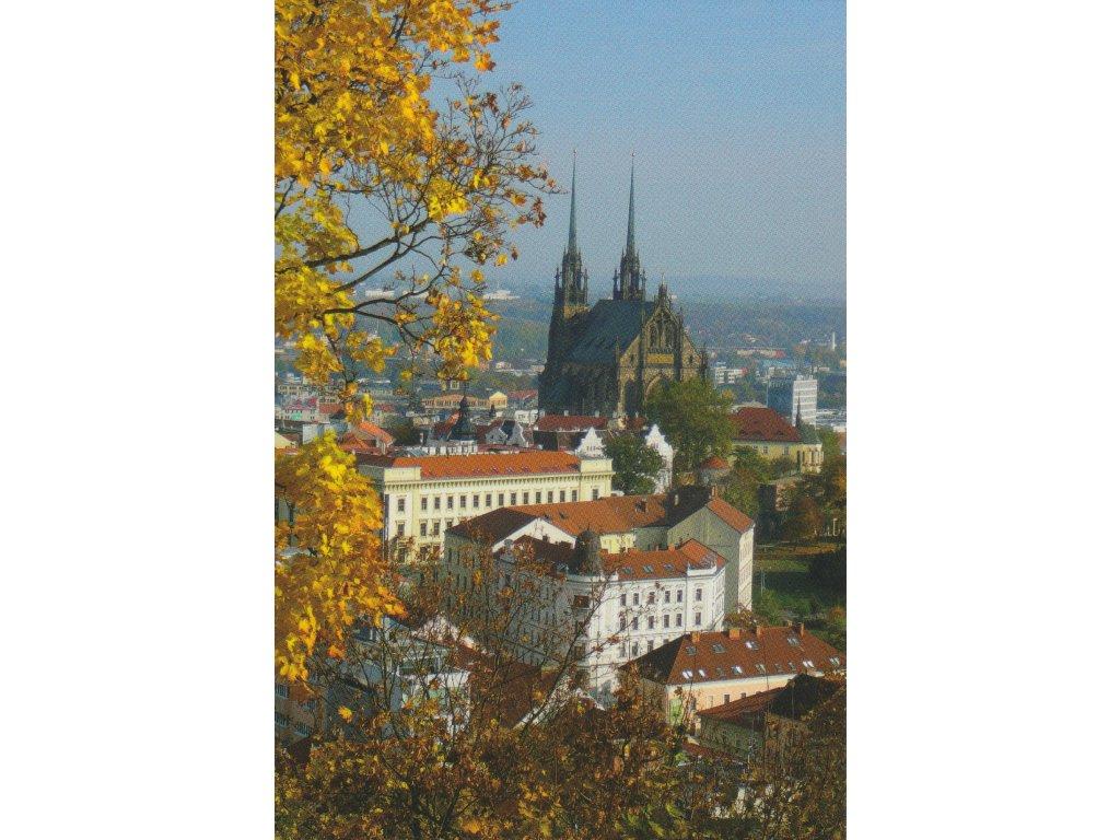 Postcard Brno - cathedral 2
