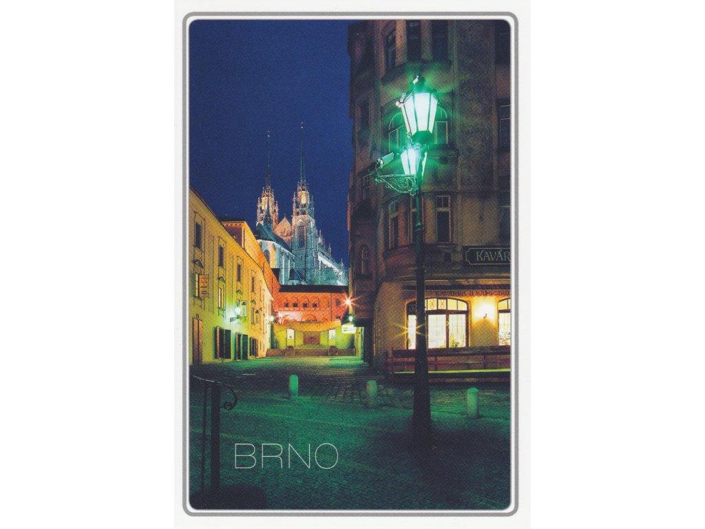 Postcard Brno - Kapucínské square