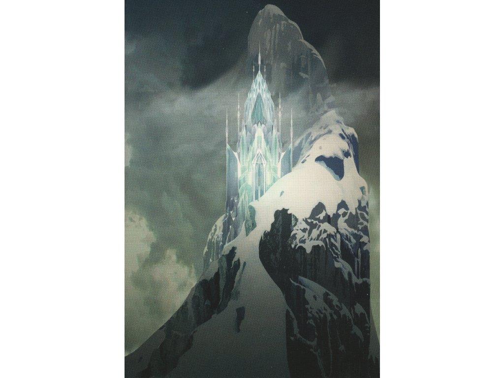Postcard Frozen - Elsa´s ice palce