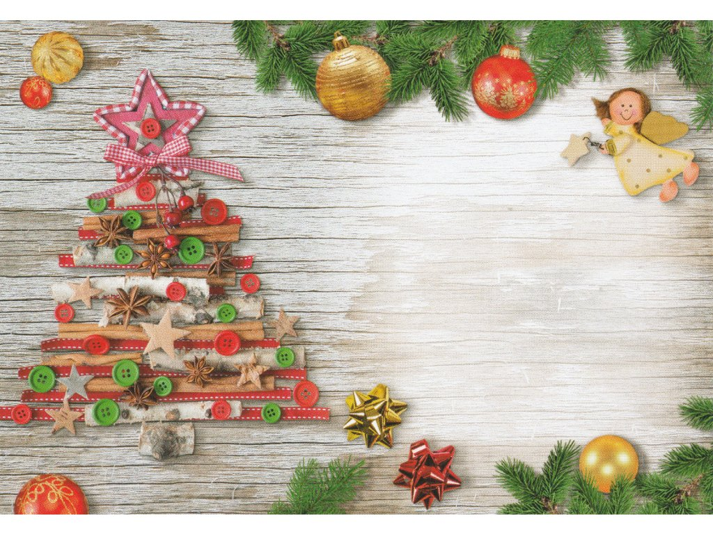 Envelope C6 - Christmas motif 18