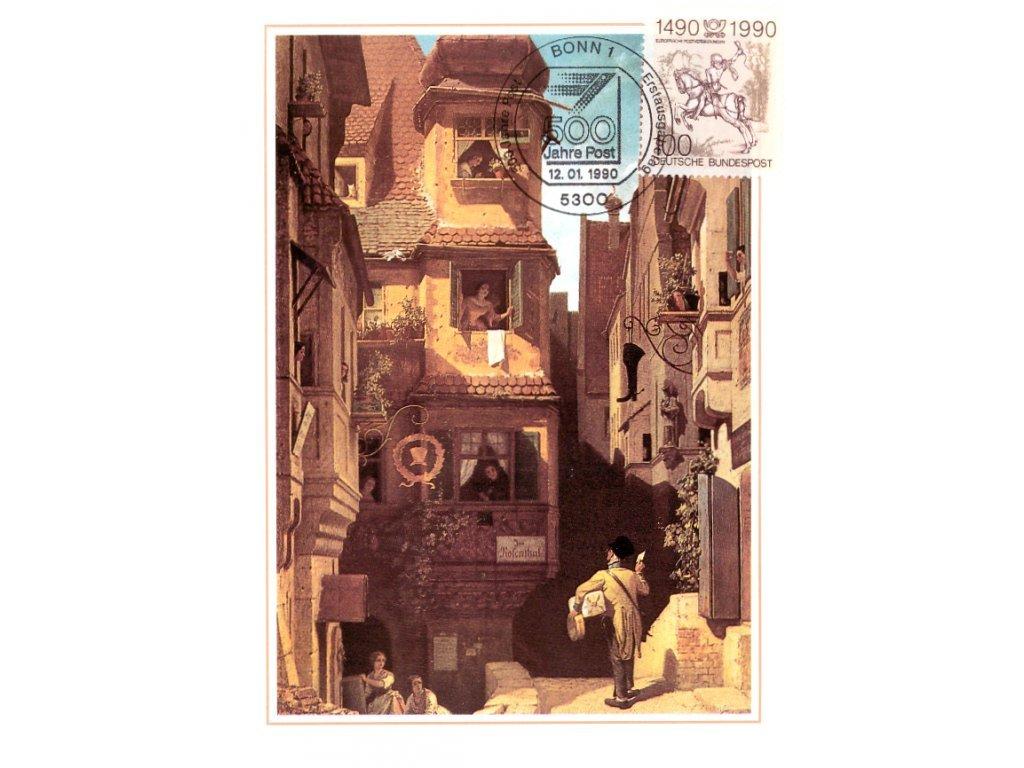 Postcard Maxicard 500 years of post 3
