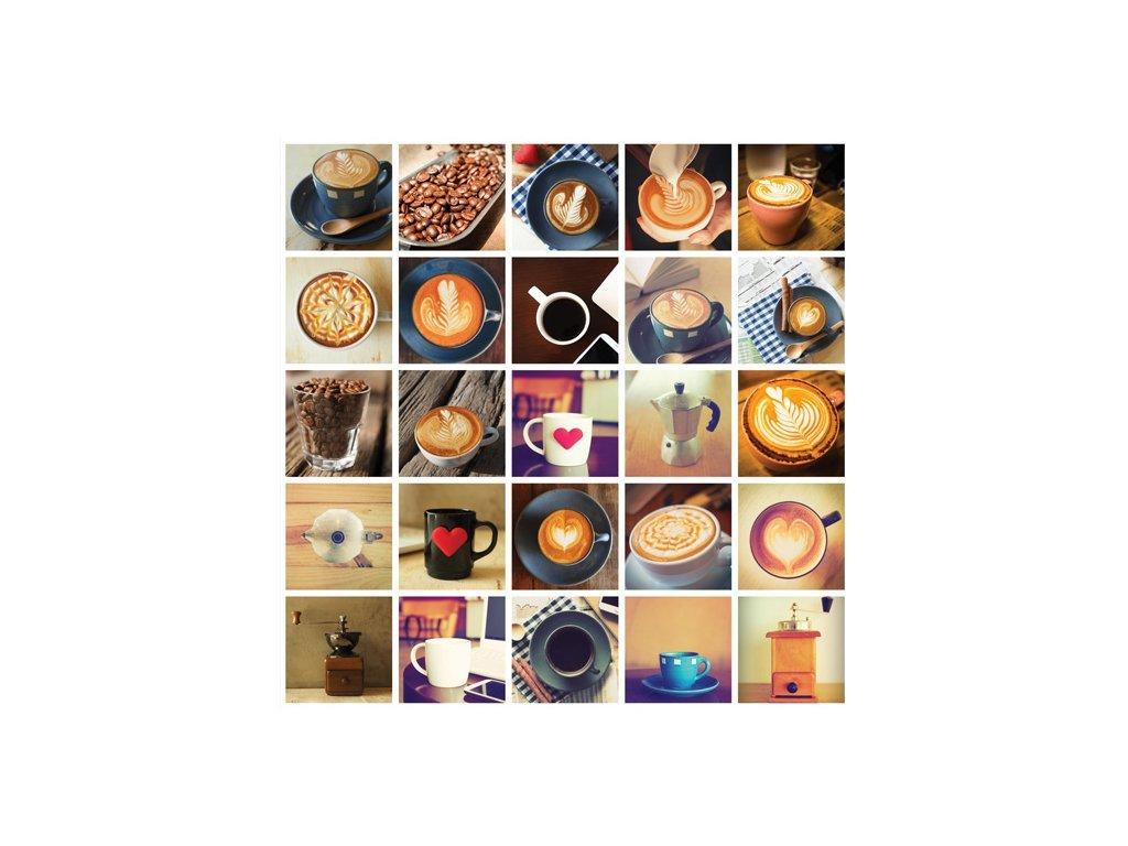 Postcard World of Coffee, 15x15 cm