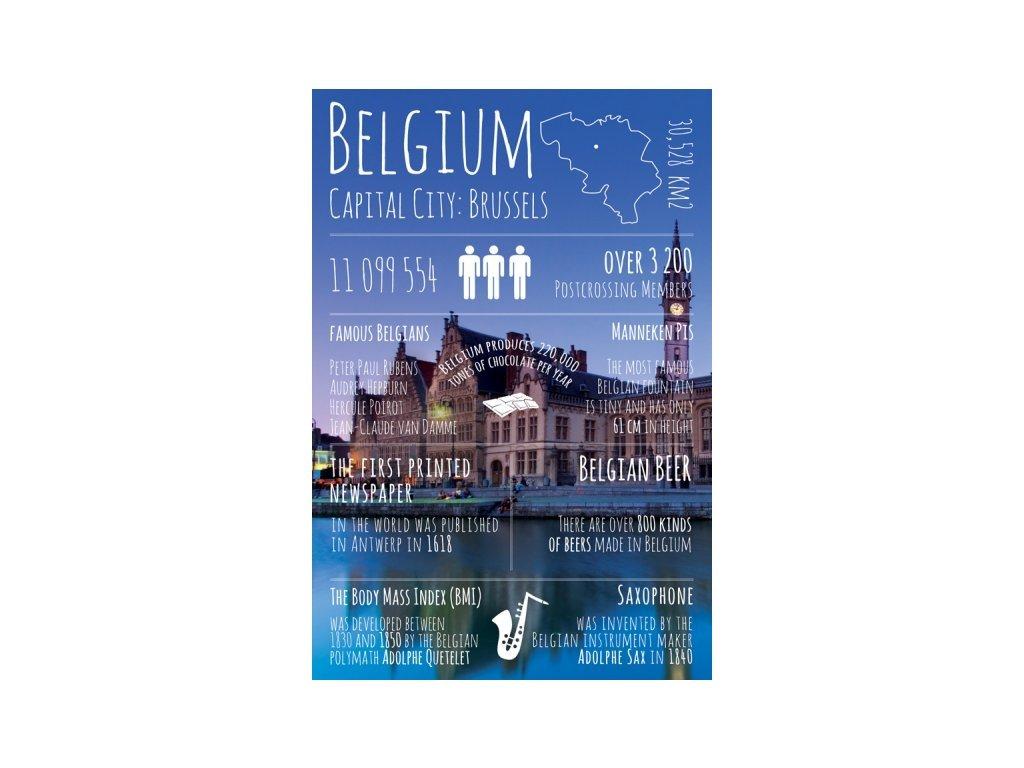 Postcard Greetings from Belgium