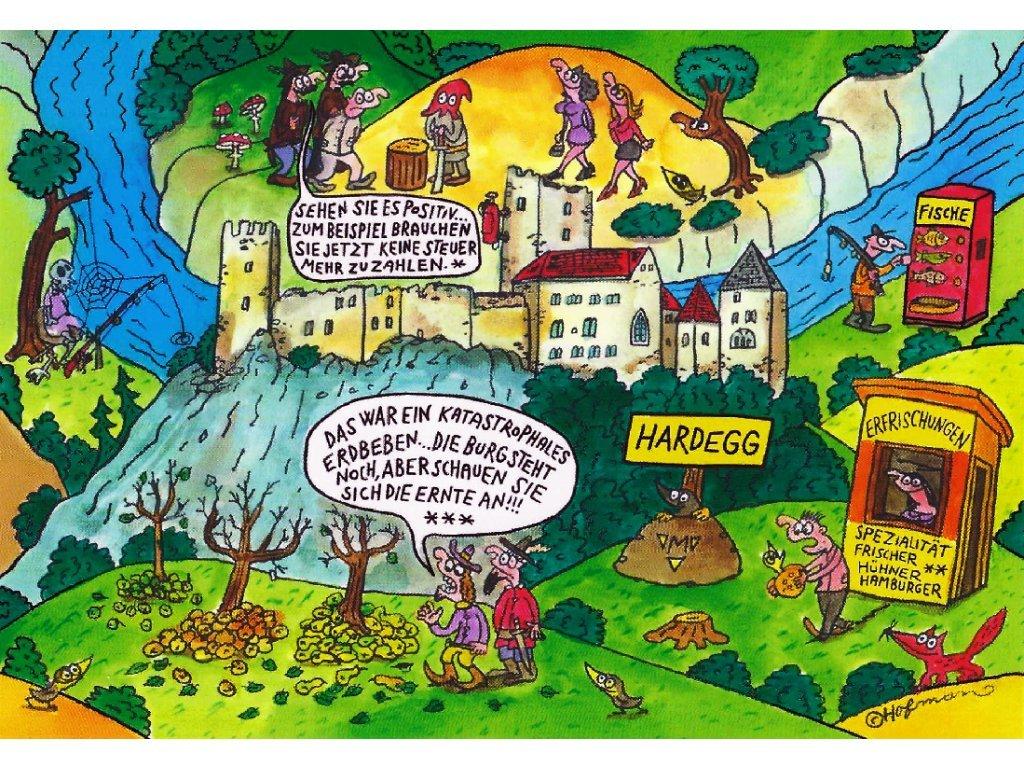 Postcard Pidifrk Hardegg