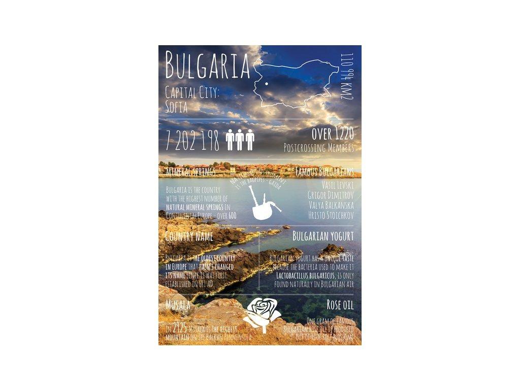 Postcard Greetings from Bulgaria