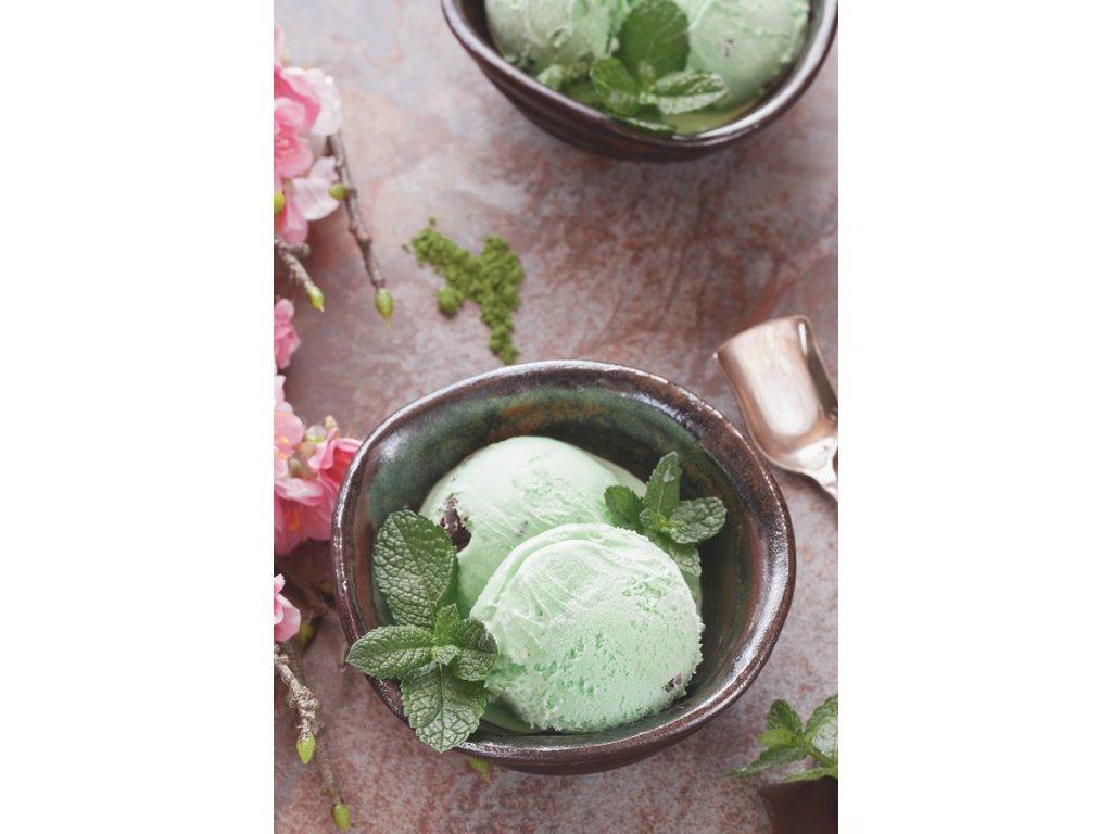 Postcard Peppermint ice cream
