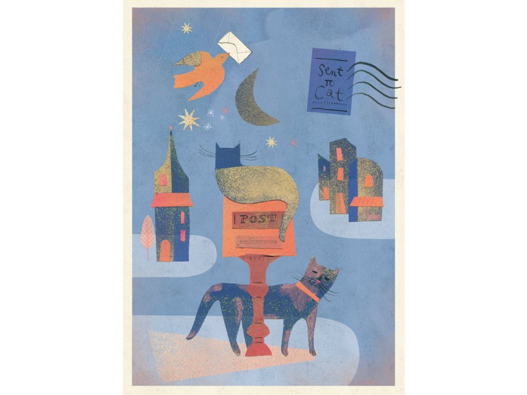 Postcard Cats 17x12 cm