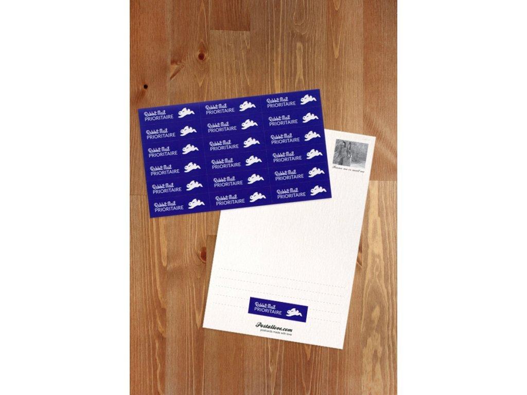 Stickers Prioritaire Rabbit Mail