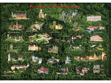 341 a4 pohlednice cesky raj