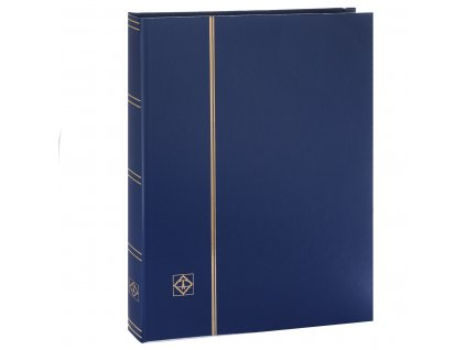 Album for stamps - Leuchtturm BASIC - 16 pages - black pages
