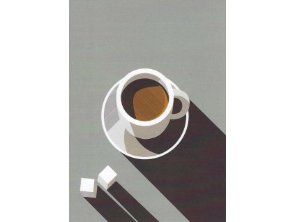 Postcard - Morning cup of coffee