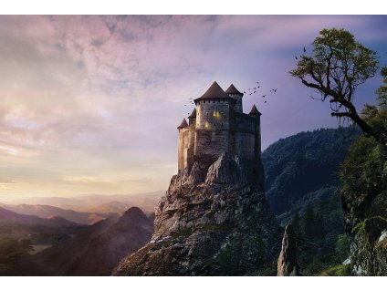 8471 2 pohlednice hrad na utesu