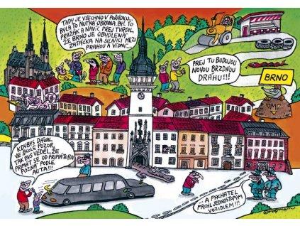 Postcard Pidifrk - Brno